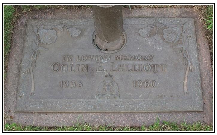 Inscription sur la stèle funéraire – Photo gracieuseté de www.rcmpgraves.com