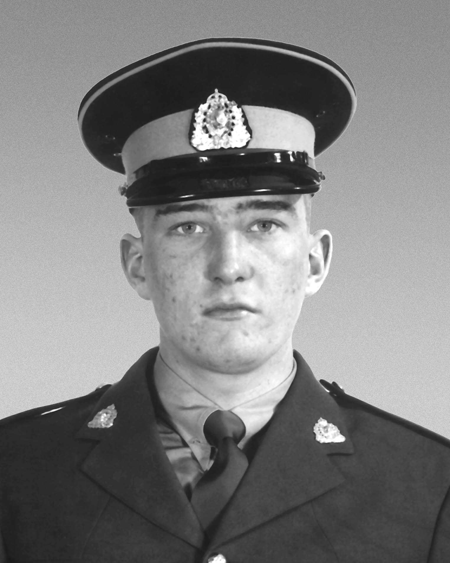 Gendarme John Roland Cobley – © Sa Majesté la Reine du chef du Canada représentée par la Gendarmerie royale du Canada