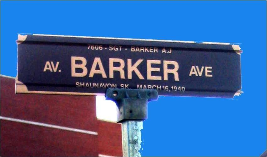 Barker Avenue – © Her Majesty the Queen in Right of Canada as represented by the Royal Canadian Mounted Police