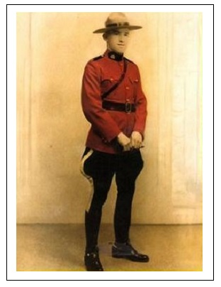 Constable Willis Edward Rhodeniser – Photo courtesy of www.rcmpgraves.com
