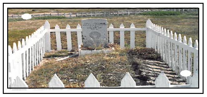 Grave marker – Photo courtesy of www.rcmpgraves.com