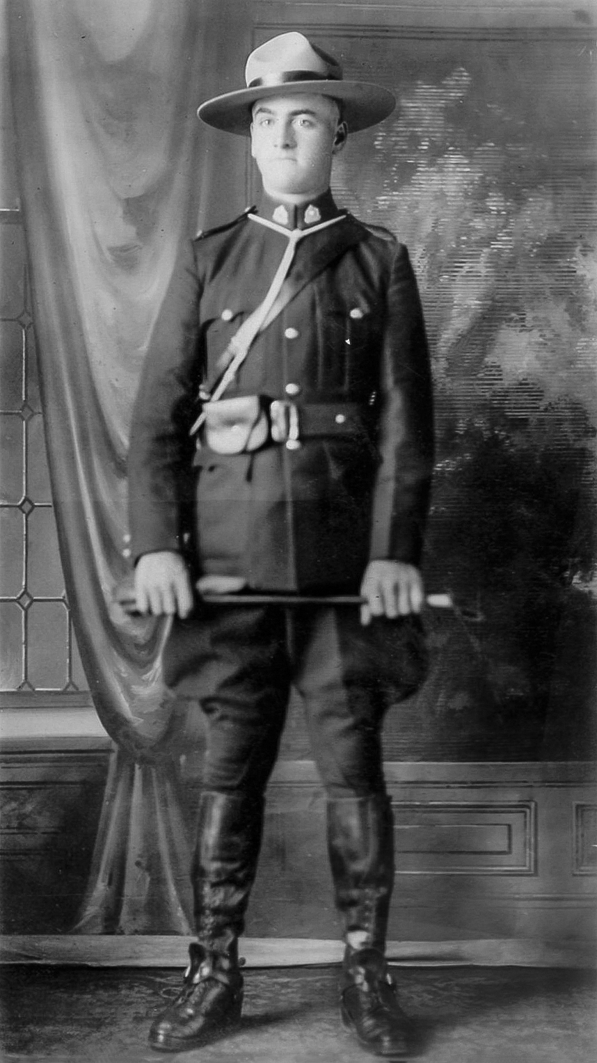 Constable Frederick Rhodes – © Her Majesty the Queen in Right of Canada as represented by the Royal Canadian Mounted Police
