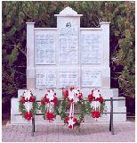RCMP cenotaph – George Henry Leopold Bossange