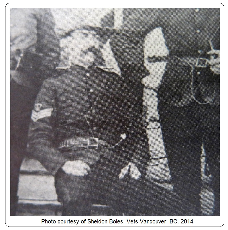 Sergeant William Brock Wilde – Photo courtesy of www.rcmpgraves.com
