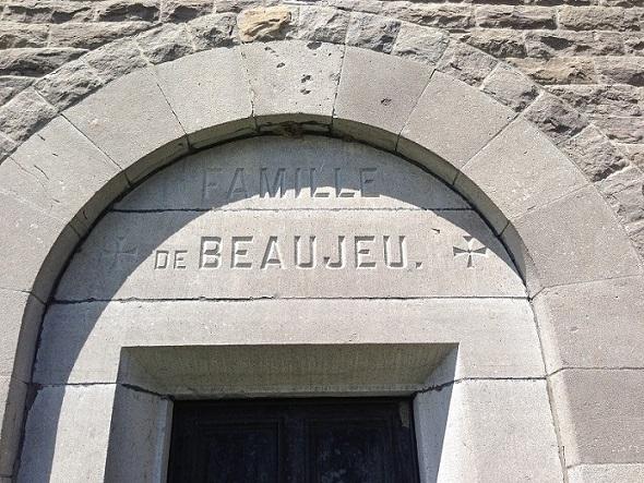 De Beaujeu Family Mausoleum – Photo courtesy of www.rcmpgraves.com