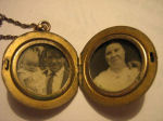 Locket – In 1925 Sidney`s wife Christina received, from the war department, a locket that had been found on the battlefield. Inside it was a picture of her and the words Baby Bevan inscribed on the back. Submitted for the project, Operation: Picture Me