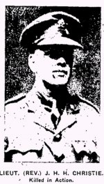 Newspaper Clipping – From the Renfrew Mercury for 27 April 1917.