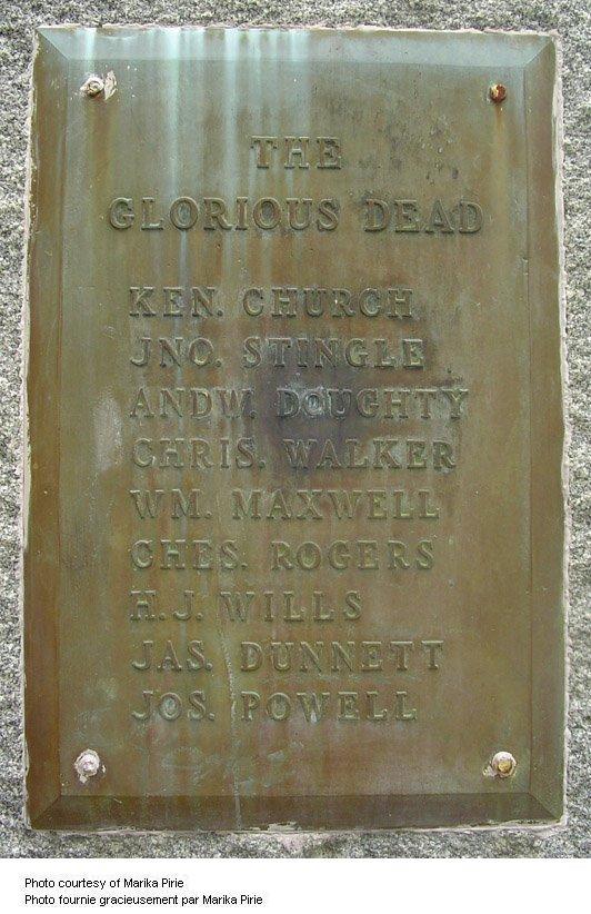Jarvis War Memorial