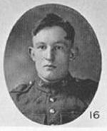 Photo of Charles Prescott Fielding – In Memory of those who served in the 106th Overseas Battalion Nova Scotia Rifles.  Submitted for the project, Operation: Picture Me