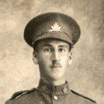 Photo of Bernard Hall – Bernard Hall in uniform