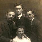 Group photo – Bernard and friends