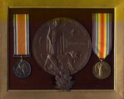 Medals – Bernard's Posthumous Medals.