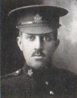 "Photo of Marvin S. Kennedy – Pte. Marvin S. Kennedy, as a member of the Trinity Methodist Church in Toronto, was remembered in the roll of honour in the ""Trinity War Book"". This book  was published by the church in 1921."