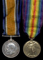 Medals – BWM and VM to L/Cpl Angus Macleod who died on 10 Apr 17, the 2nd day of the battle for Vimy Ridge