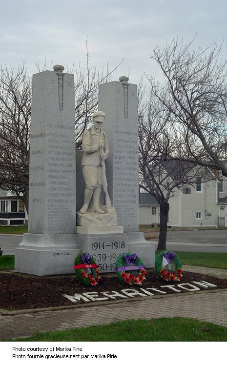 Merritton Ontario War Memorial