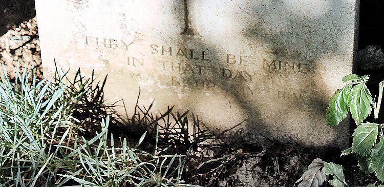 Inscription – John & Anne Stephens 2013