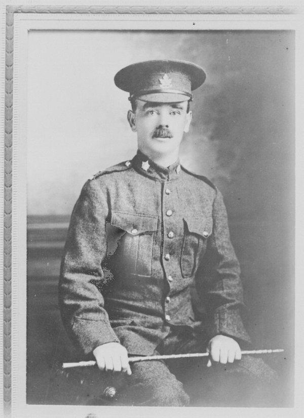 Photo of Private J.G. Pattison, V.C.