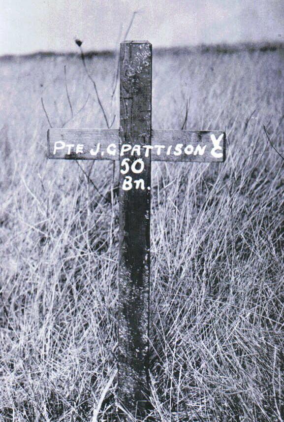 Original grave marker