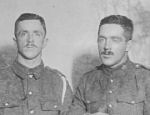 Group Photo – Frank Sproule and his brother Alex who died 5-6-1916