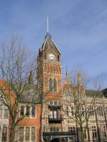 Town Hall – This is the Town Hall, Burton-on-Trent, Staffordshire.  There is a Roll of Honour inside on which Fred's name is commemorated.
