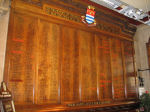 Roll of Honour – The Roll of Honour inside the Town Hall, Burton-on-Trent.