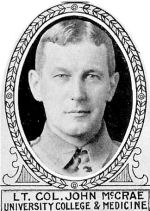 Photo of John McCrae
