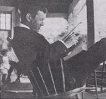 Reading – Reading was one of John McCrae's favourite pastimes. (photo: McCrae House)