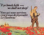 The Flower of Remembrance – Before he died, John McCrae had the satisfaction of knowing that his