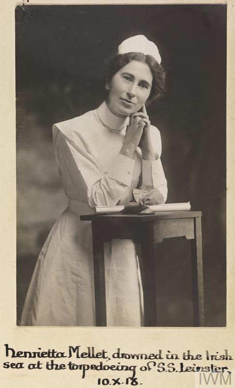 Photo of Henrietta Mellett – © IWM (WWC H22-26)
