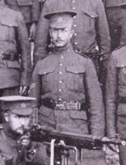 Photo of Robert Burns – Served with the 35th Battalion CEF. Submitted for the project, Operation: Picture Me