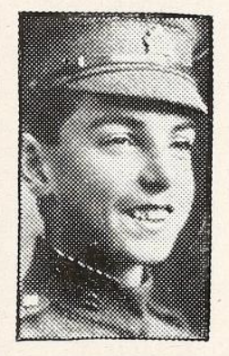 Photo of ALFRED CARROLL BURRITT – Photo from the National Memorial Album of Canadian Heroes c.1919. Submitted for the project, Operation: Picture Me.