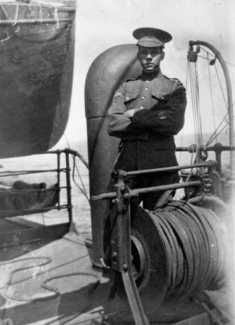 On board R.M.S. Hesperian