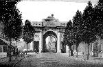 Postcard of the Ypres (Menin Gate) Memorial – Postcard of the Ypres (Menin Gate) Memorial shortly after it was completed in 1927.