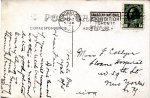 """Postcard to sister Frances – Text reads """"Toronto, Ont., Apl. 2, 1915. Dear Fan:  Don't know if you will recognise your little brother as this is not an extra good photo. Everything is going fine.  Going home to-morrow.  Chas"""" Source: N. Hockin"""