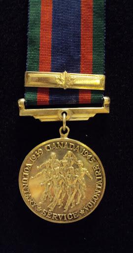Médaille canadienne du volontaire