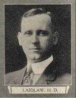 Photo of Henry Douglas Laidlaw – From The War Book of Upper Canada College, edited by Archibald Hope Young, Toronto, 1923.  This book is a Roll of Honour including former students who served during the First World War.