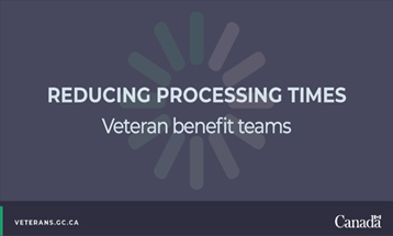 Speeding up Disability Applications: Veteran Benefit Teams