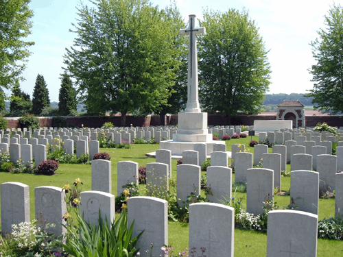 Lievin Communal Cemetery and extension