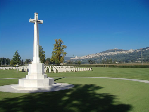 Assisi War Cemetery, Italy
