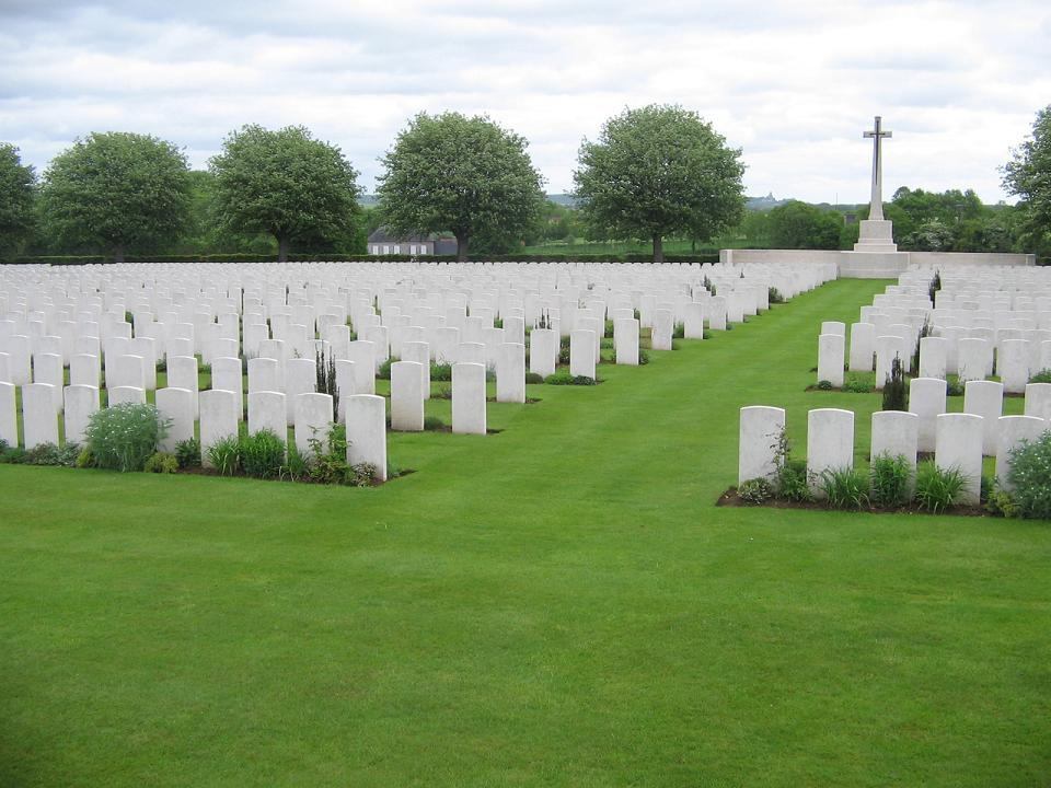 Aubigny Communal Cemetery Extension, France