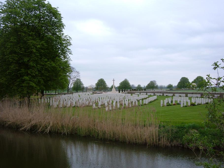 Bedford House Cemetery (Enclosure 4), Belgium