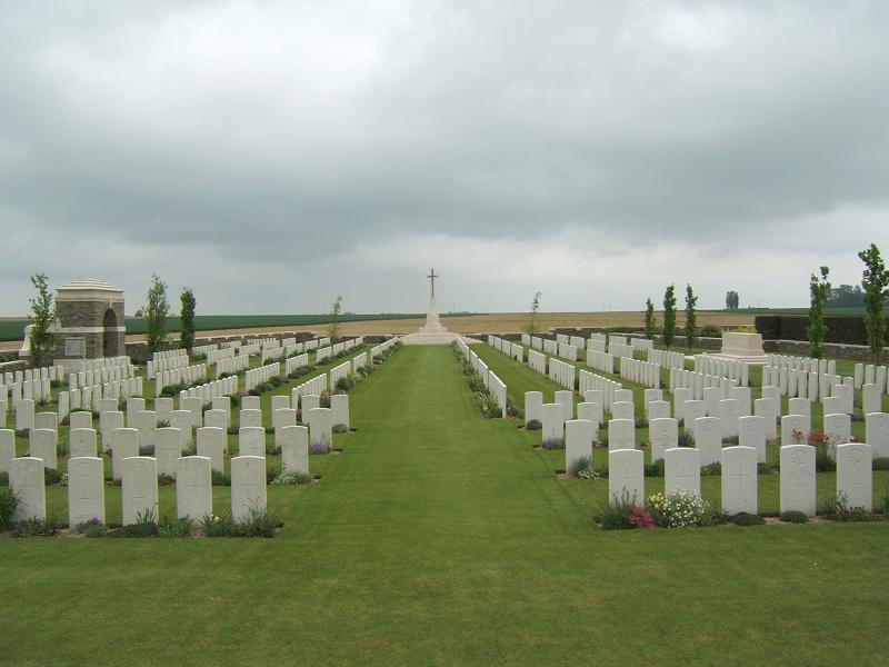 Bouchoir New British Cemetery, France