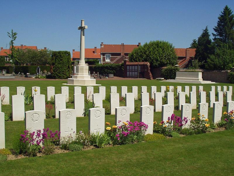 Bruay Communal Cemetery Extension, France