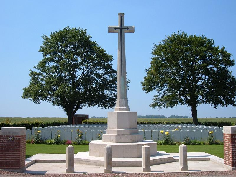 Cantimpre Canadian Cemetery, France