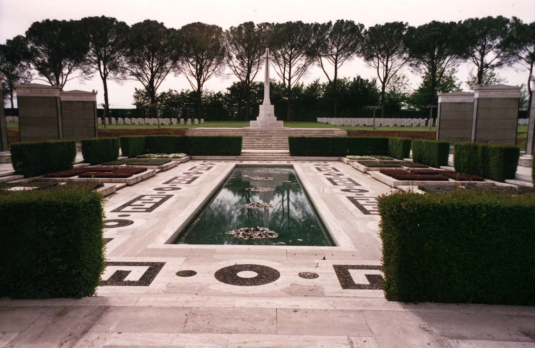 Cassino Cemetery and Memorial, Italy