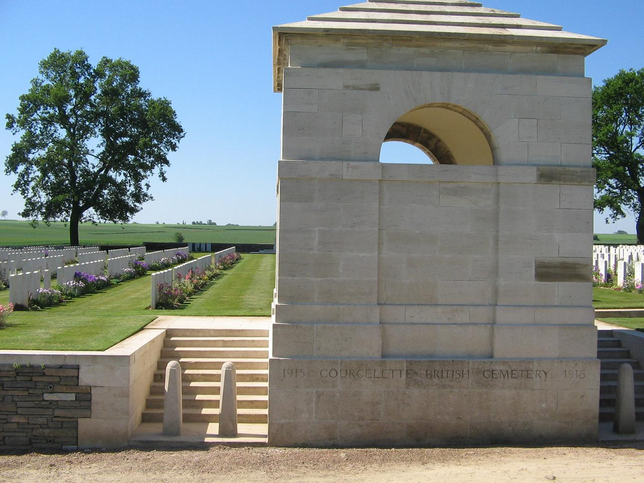 Courcelette British Cemetery, France