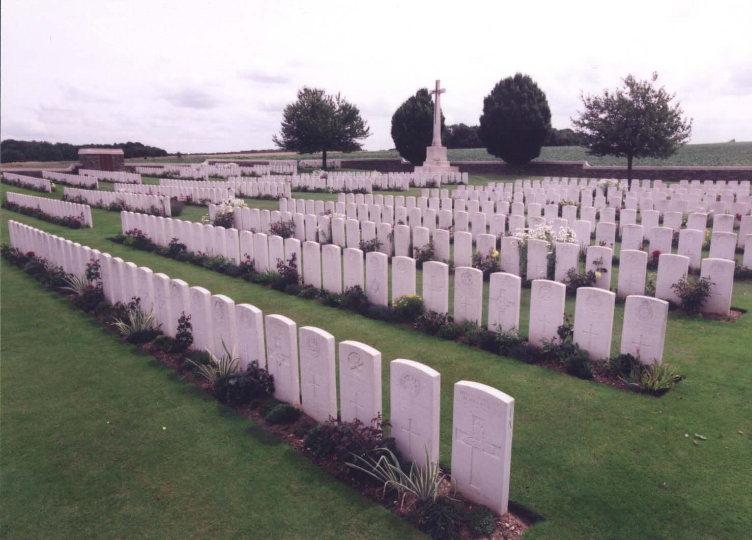 Crouy British Cemetery, France