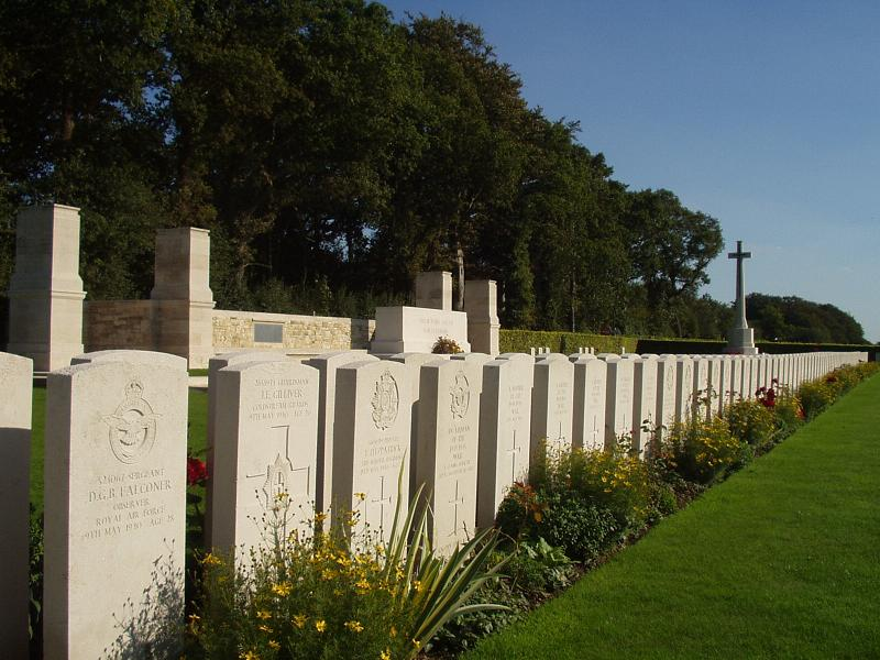 Dieppe Canadian War Cemetery, France