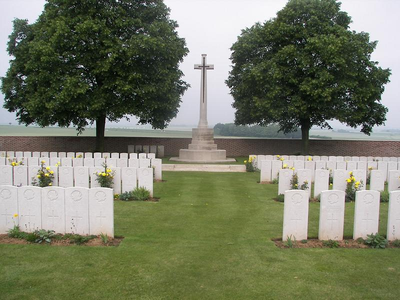 Dury Mill British Cemetery, France