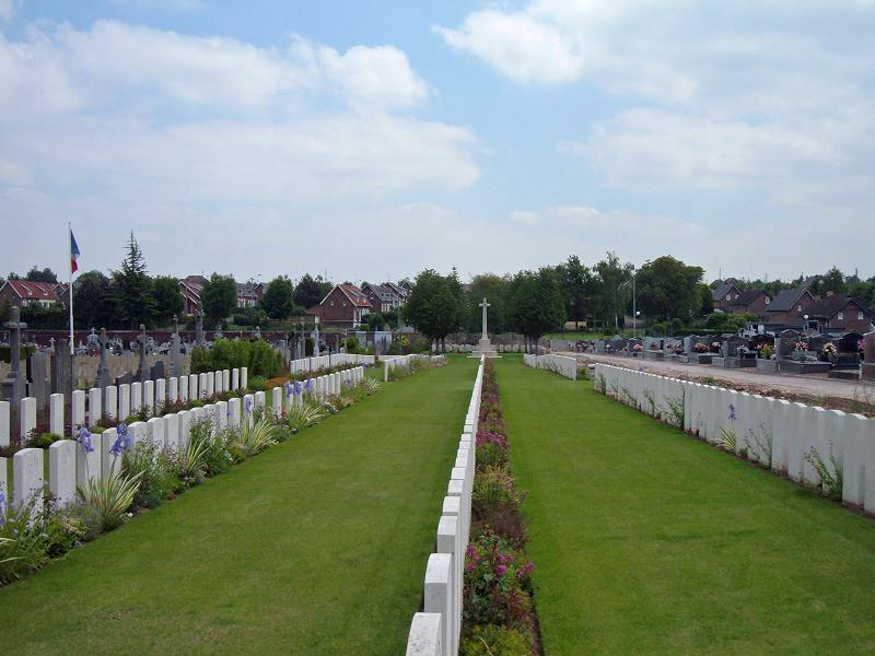 Fosse No. 10 Communal Cemetery Extension, France